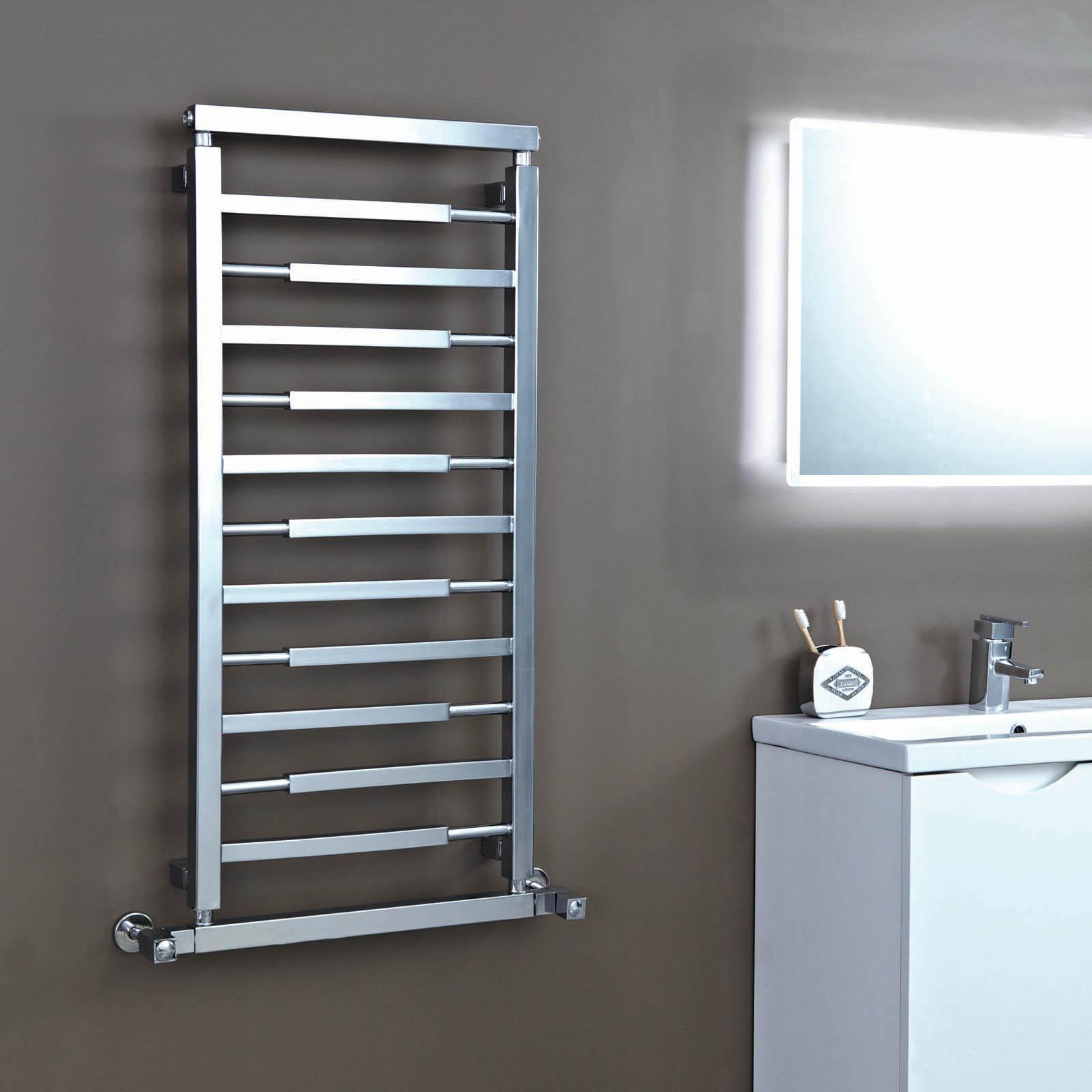 Bathroom Radiators phoenix vogue designer towel radiator in chrome | ra370