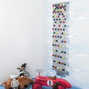 Aeon Abacus Children's Rooms Designer Radiator multicoloured beads