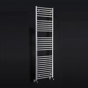 Phoenix Flavia 300 x 1800mm Straight Towel Rail in Chrome