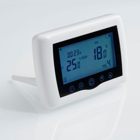Thermostat for the infrared heating panel