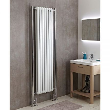 Phoenix Lilly Plus vertical column radiator in white