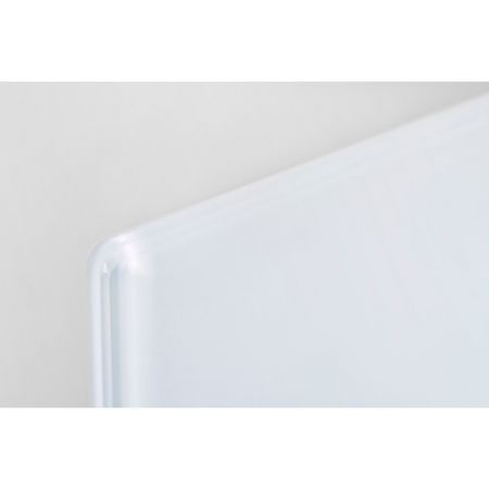 White glass infrared panel profile