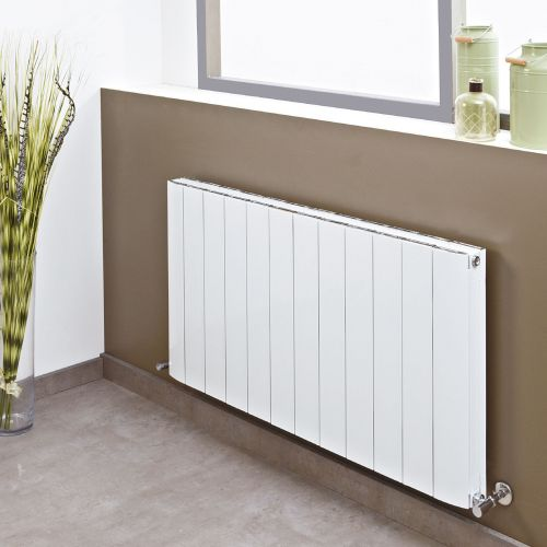 Phoenix Urban Aluminium Panel Radiator White/Anthracite