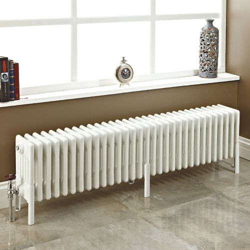 Phoenix Nicole High Heat 6 Column Radiator In White