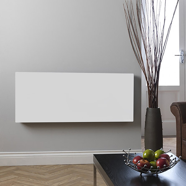 Hudson Reed White Horizontal Infrared Heating Panel