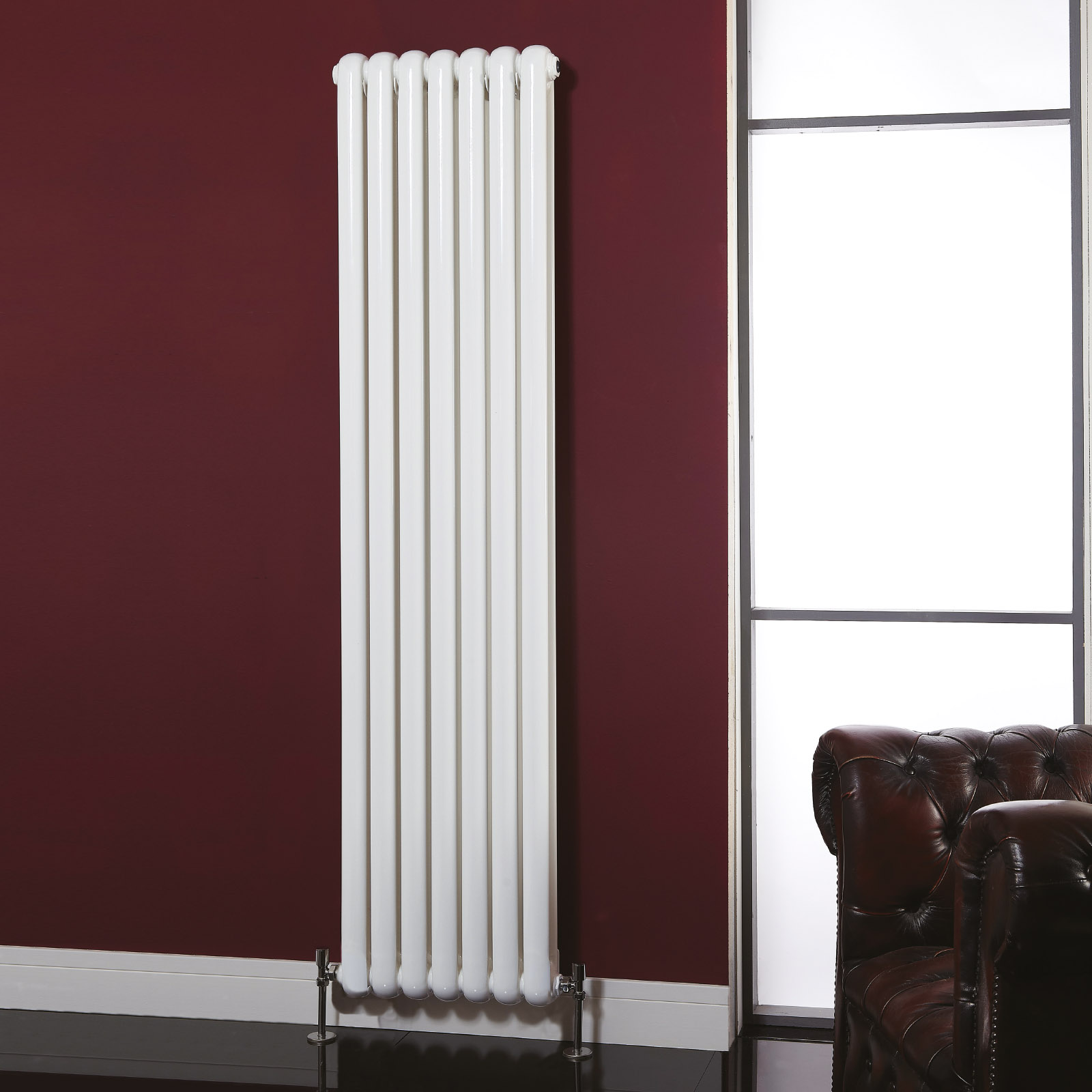 Tall radiators perfect for kitchens and hallways