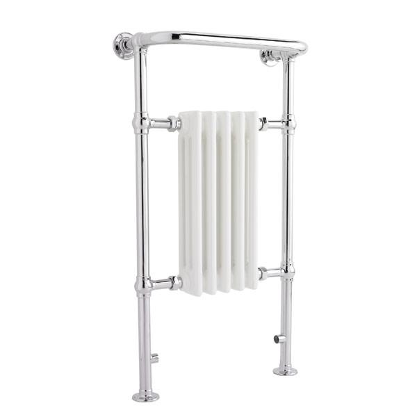 Harrow Small Narrow Traditional Heated Towel Rail