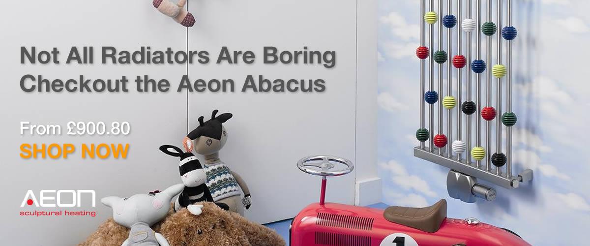 Aeon Abacus Childrens Designer Radiator