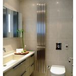 Kartell Idaho Brushed Stainless Steel Flat Panel Radiator