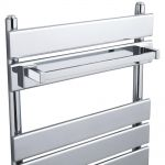 Hudson Reed Chrome Designer Magnetic Towel Rail Hanger