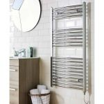 Kartell KVIT Curved Electric Towel Radiator