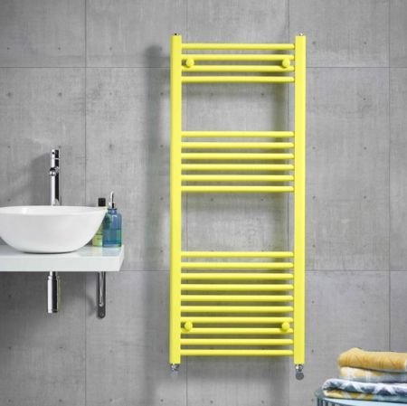 Kartell K-R Coloured Towel Rail in Bright Yellow