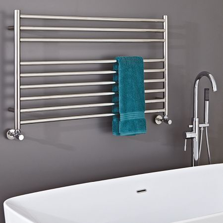 Zonta Stainless Steel Wide Towel Radiators in 4 Sizes