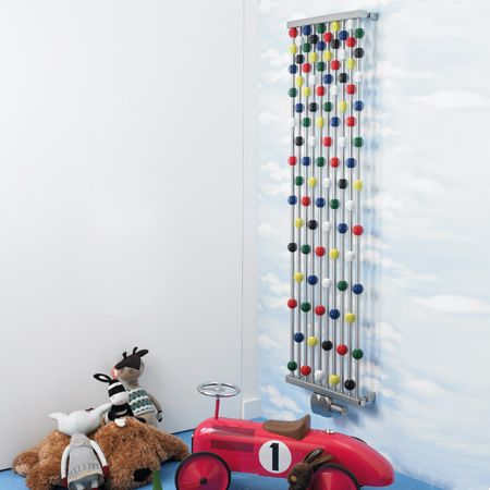 Aeon Abacus Children's Rooms Designer Radiator multicoloured beads