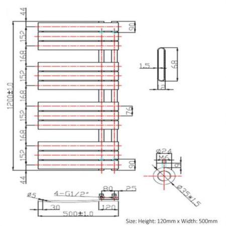1200x500 Carla technical drawing