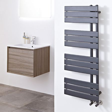 Anthracite Carla towel rail