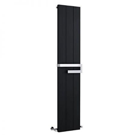 Black Hudson Reed Ceylon Vertical Flat Panel Radiator