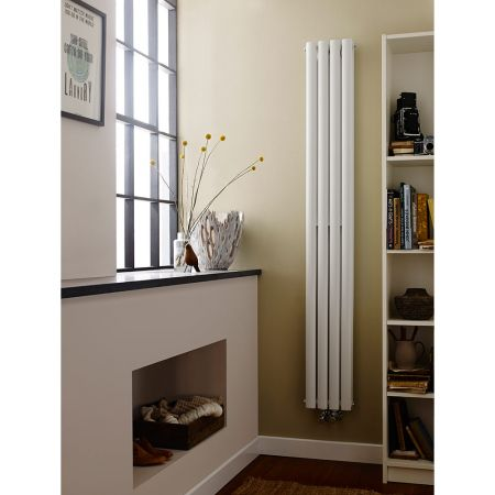 Hudson Reed Revive Compact & Narrow White Double Panel Radiator