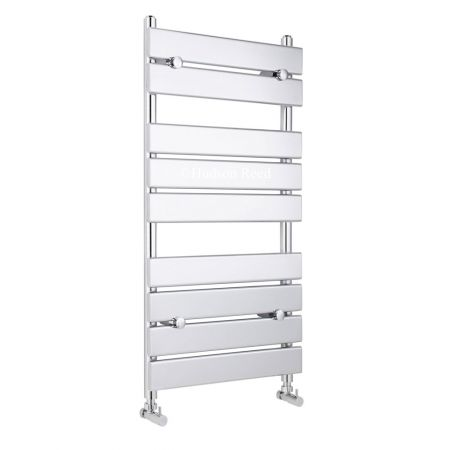 Hudson Reed Piazza Chrome 500 x 950mm Heated Towel Rail