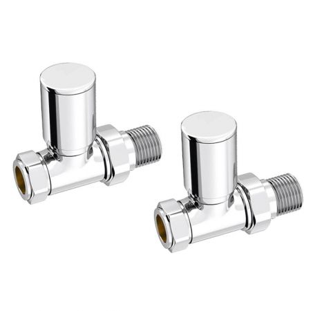 Essential Modern Straight Radiator Valves