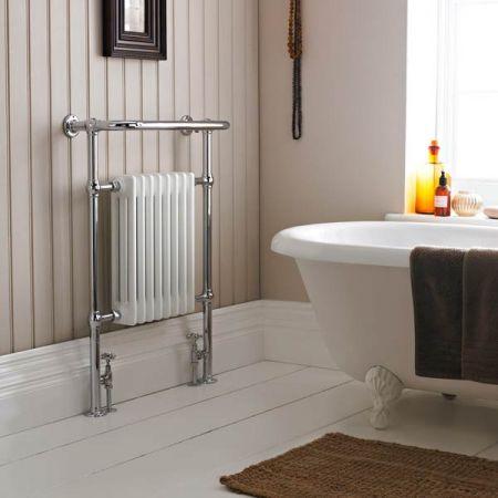 Harrow Heated Traditional Towel Rail