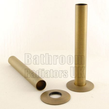 Old English 130mm Radiator Pipe Sleeve Kit