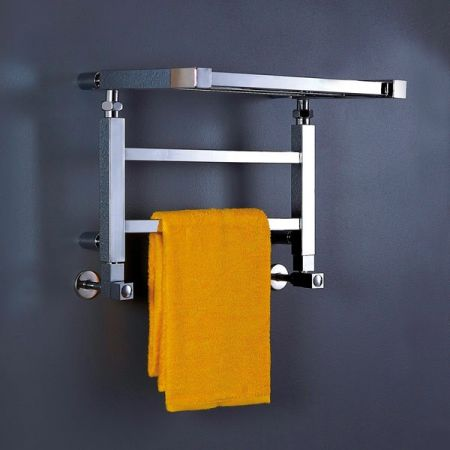 Adam Square Tubing Hotel Towel Rack