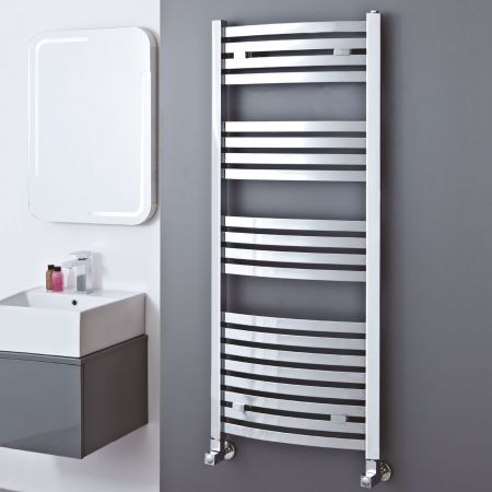 Phoenix Rochelle Curved Square Section Towel Radiator