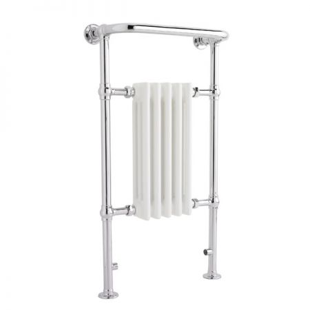 Harrow Small Narrow Traditional Heated Towel Rail