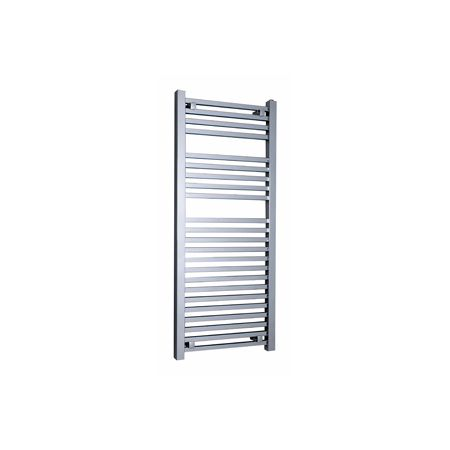 Sophia chrome towel rail that can be converted to dual fuel