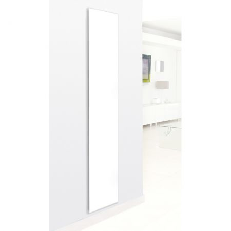 Tall white Hudson Reed heating panel