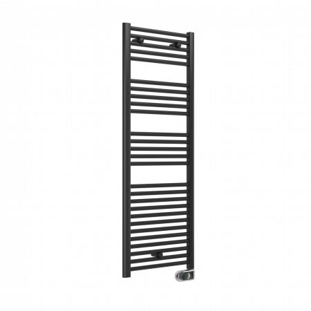 Essential Evo Electric Straight Towel Warmer in Anthracite