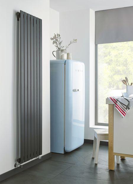 Boston radiator in a kitchen setting